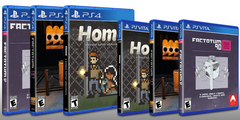 Limited Run Games : Une version physique pour Home et Factotum 90