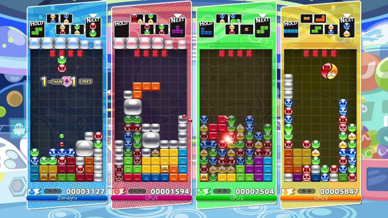 Puyo Puyo Tetris teasé sur Steam par Sega ?