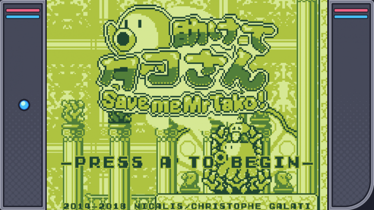 Save me Mr Tako : L'hommage à la Game Boy arrive bientôt sur Switch et PC