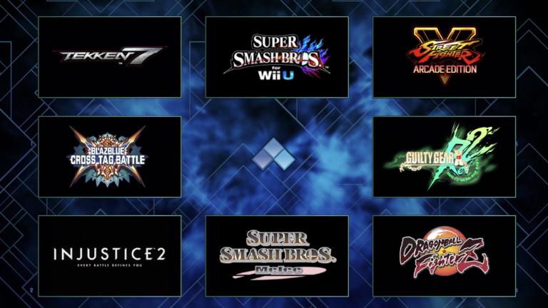 EVO 2018 : Le lineup annoncé