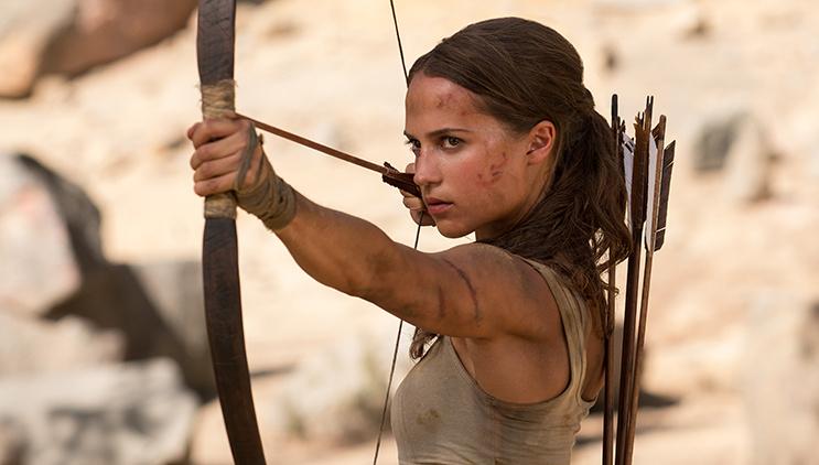 Exclu – Tomb Raider le film - Nous étions sur le tournage !