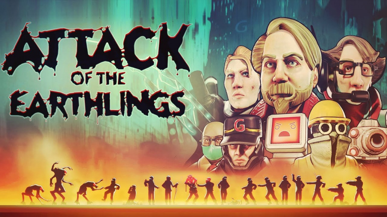 Attack of the Earthlings paraîtra également sur PS4, Xbox One et Nintendo Switch