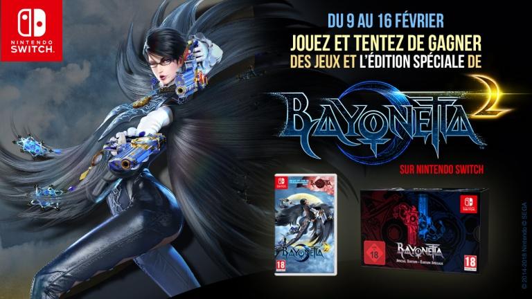 Concours Bayonetta 2 : Gagnez des jeux et une édition spéciale