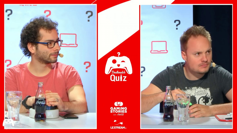 DeathMatch Quiz # 26 : suivez le duel entre Xari et Zouloux en direct à 16h !