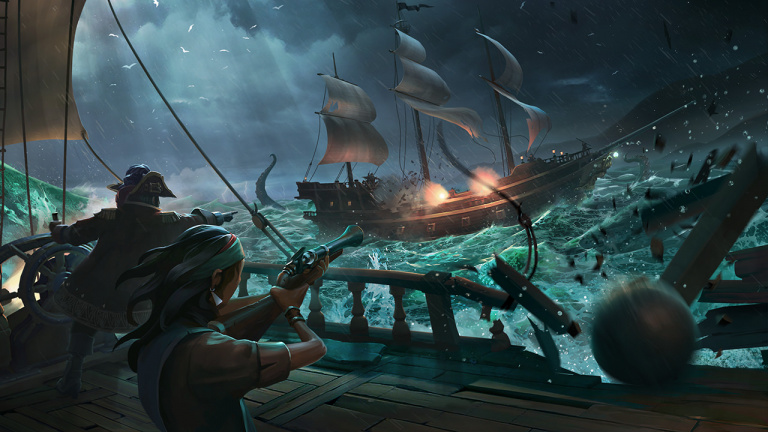 Nouveau weekend de beta pour Sea of Thieves
