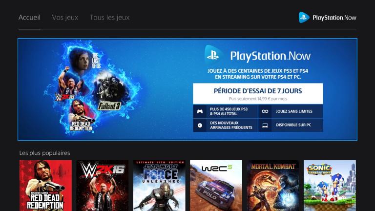 Le PlayStation Now baisse de prix et accueille de nouveaux jeux