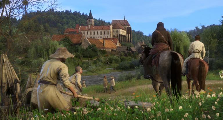 PS Store - Kingdom Come: Deliverance guerroie sur PlayStation
