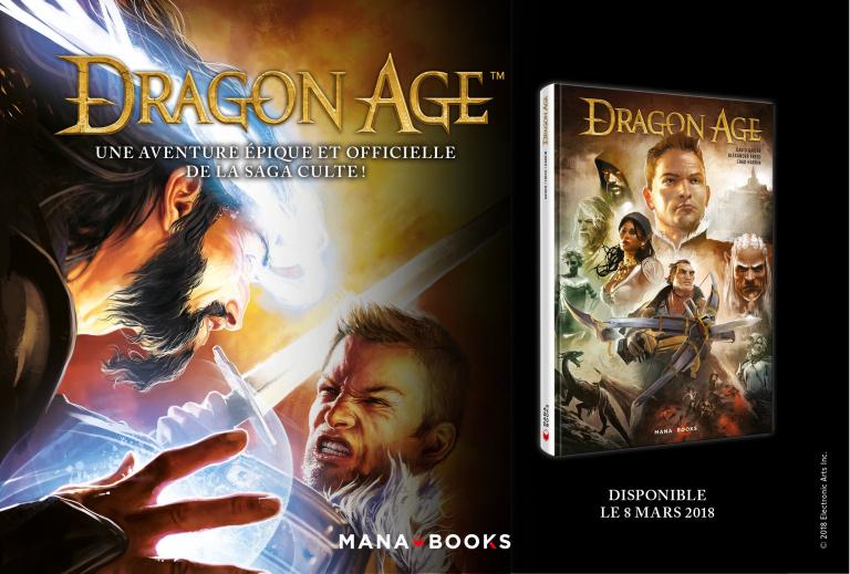 Dragon Age : Les comics publiés chez Mana Books