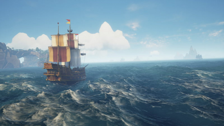 Une nouvelle bêta fermée ce week-end — Sea of Thieves
