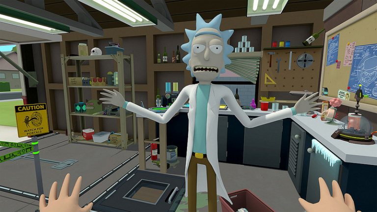 Rick and Morty : Virtual Rick-ality disponible en avril sur le PS VR