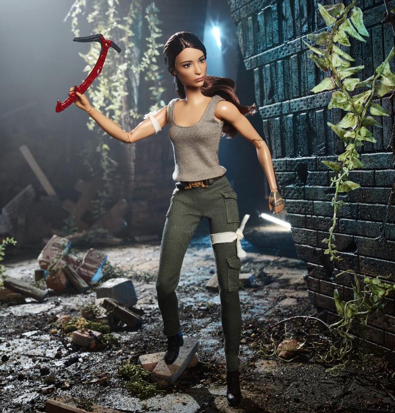 Tomb Raider : Une Barbie pour la sortie du film