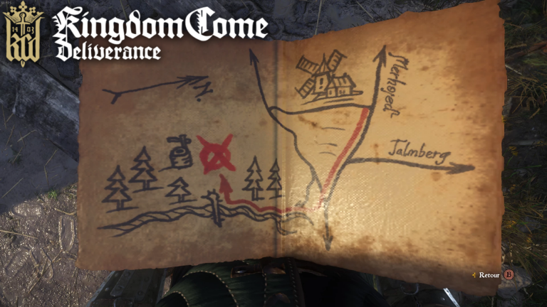 Carte Au Tresor 3 Kingdom Come.Maj Guide Kingdom Come Deliverance Cartes Au Tresor