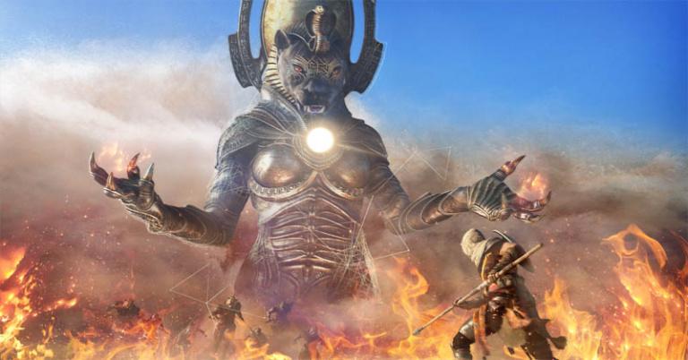 Assassin's Creed Origins : Le DLC The Curse of the Pharaohs repoussé