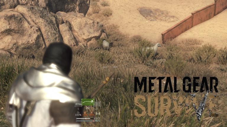 Guide Metal Gear Survive : comment avoir de l'eau claire et manger à sa faim