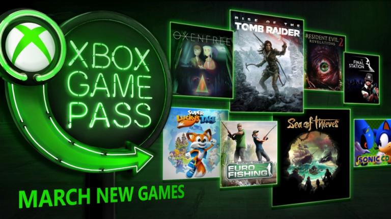 Xbox Game Pass : toutes les nouveautés du mois de mars