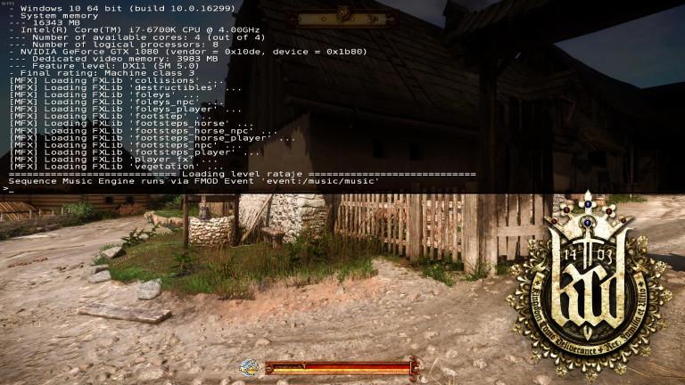 La console de commandes - comment afficher un réticule de visée, désactiver le HUD...