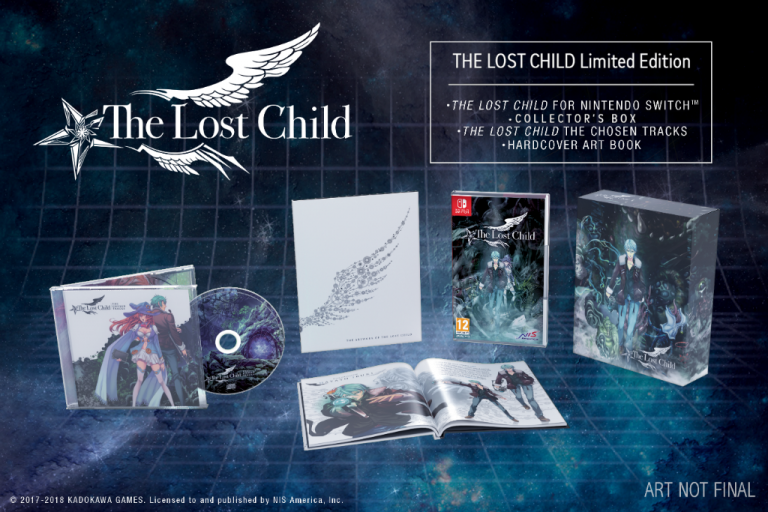 The Lost Child présente son édition limitée sur Switch