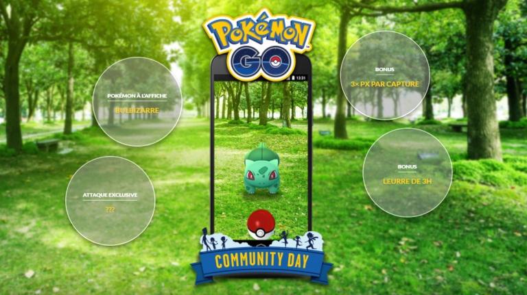 Pokémon GO, Community Day : la date et les prochains Pokémon et bonus connus, préparez-vous