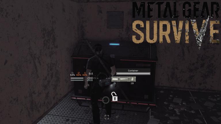 Metal Gear Survive : carte des emplacements de tous les containers