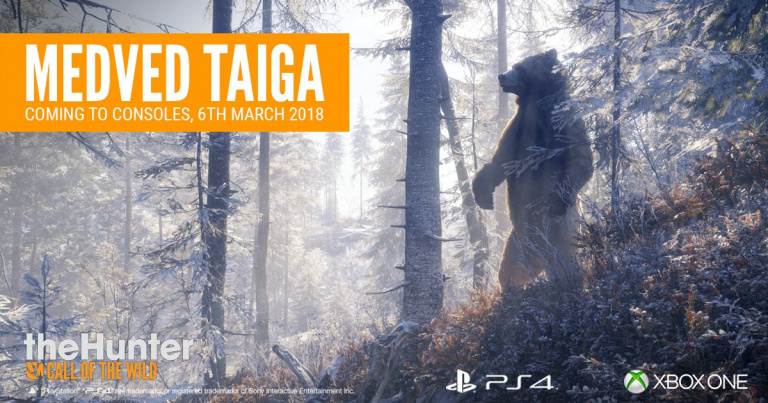 theHunter : Call of The Wild - Medved-Taiga débarque sur consoles