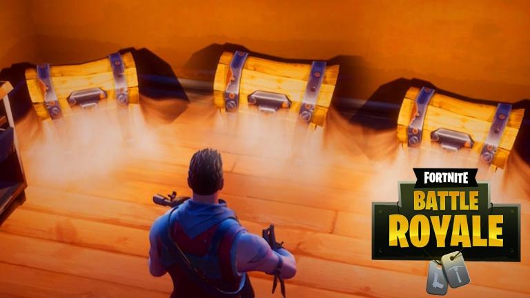 Fortnite Battle Royale : une nouvelle carte avec l'emplacement de tous les coffres