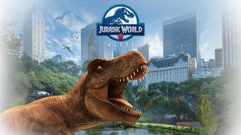 Jurassic World lance son Pokémon Go