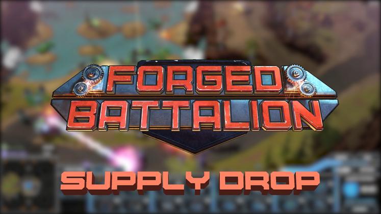 Forged Battalion : Une première mise à jour majeure pour le RTS en accès anticipé