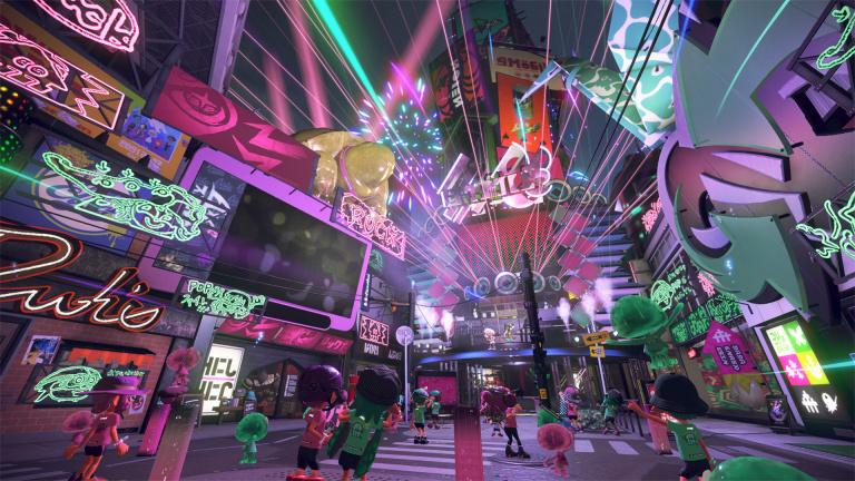 Nintendo Direct : du contenu en ligne et une extension solo pour Splatoon 2