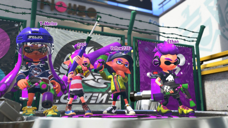 Splatoon 2 version 3.0 et un DLC payant