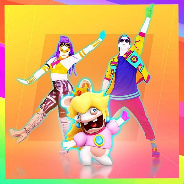 Lapin Peach s'invitera dans Just Dance 2018 sur Switch