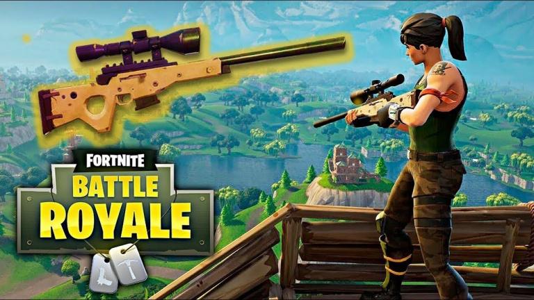 Fortnite Battle Royale : comment fonctionne la visée du sniper, explications du bullet drop