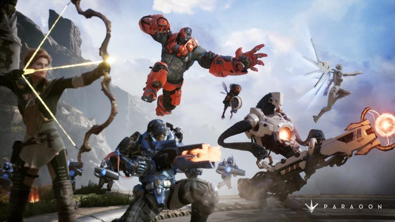 Paragon : Les assets recyclées au sein de l'Unreal Engine