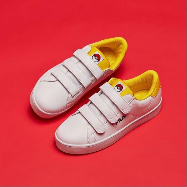Découvrez la collection de chaussures Pokémon par Fila