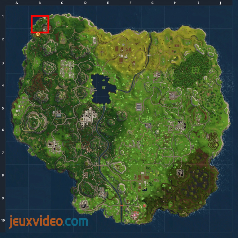 Fortnite Battle Royale, défis de la 5ème semaine : soluce de la carte au trésor d'Anarchy Acres et du défi stations-services