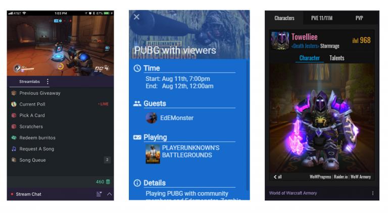 GDC 2018 : les extensions Twitch arrivent sur mobiles