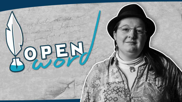 "Open Word #5 - Aurore Palisson : ""Quand on bosse dans le jeu vidéo, on ne joue plus, on teste !"""