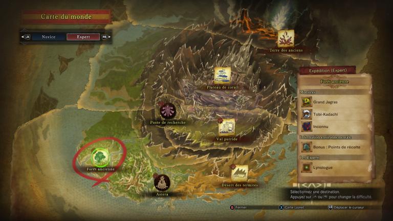Monster Hunter World : Comment rencontrer et débloquer la quête du Deviljho