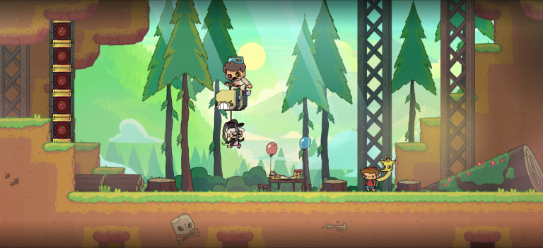 The Adventure Pals s'annonce sur PC, PS4, Xbox One et Switch