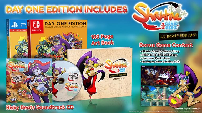 Shantae : Half-Genie Hero Ultimate Edition dévoile sa date de sortie et son édition Day One