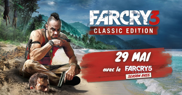 Far Cry 3 : Classic Edition se trouve une date