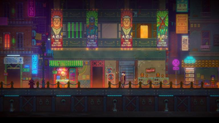 Tales of the Neon Sea : pixel art et ambiance cyberpunk dans ce point'n click d'enquête