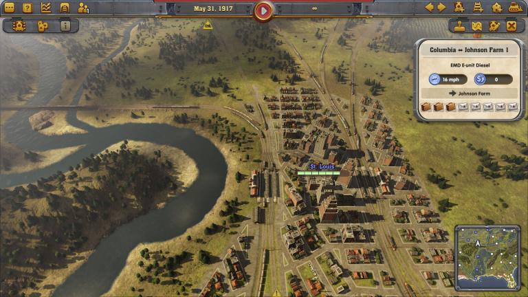 Railway Empire : une carte transcontinentale est désormais disponible