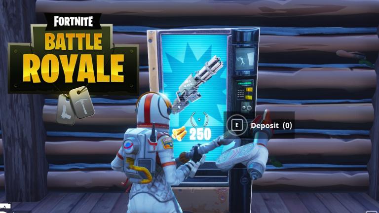 fortnite battle royale le distributeur automatique d armes debarque jeudi preparez vous - map fortnite distributeur saison 5