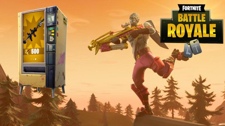 Fortnite Battle Royale : les distributeurs automatiques sont dispos, la carte de leurs emplacements