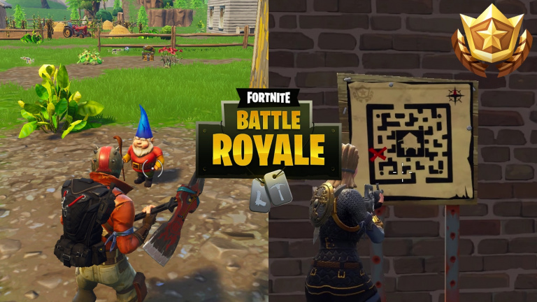 Fortnite Battle Royale, guide défis 7e semaine ...