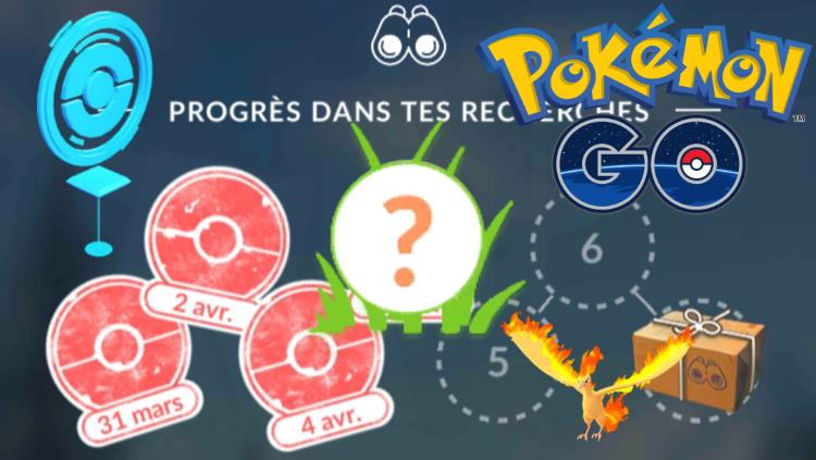 Pokémon GO, guide Missions d'Étude : tous les objectifs et Pokémon rares récompense