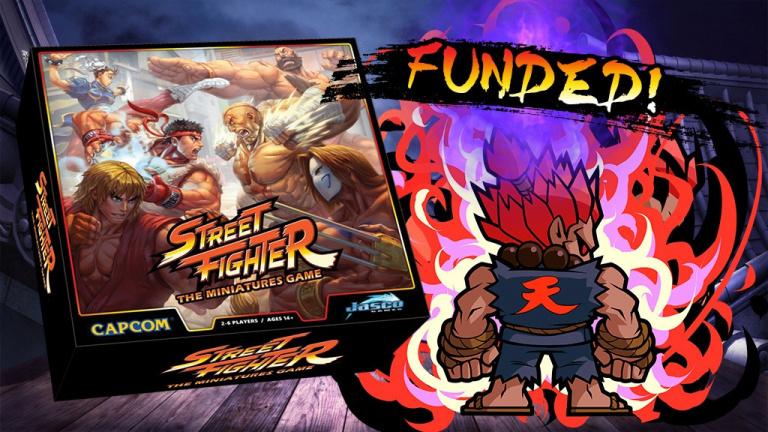 Street Fighter : Un Kickstarter pour le jeu de plateau
