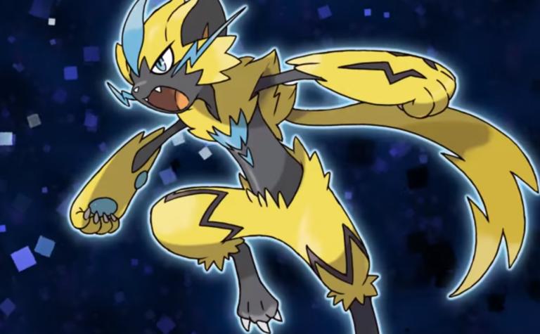 Pokémon Ultra-Soleil et Ultra-Lune accueilleront bientôt Zeraora