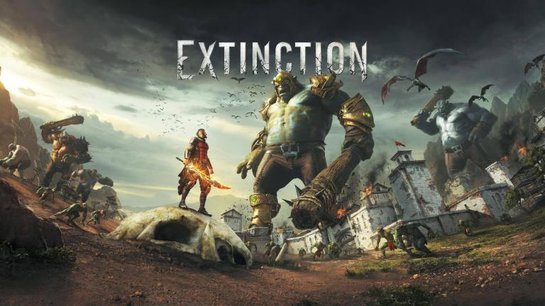 Extinction : les trophées et succès du jeu de bastonnage de géants disponibles
