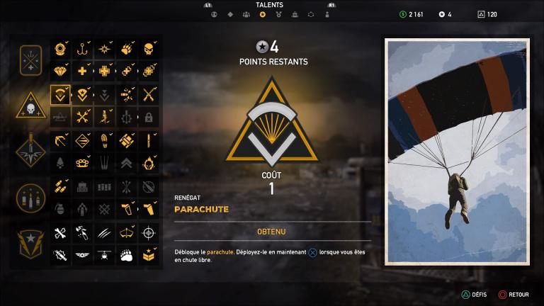 Obtenir des points de talent : Tous les défis de Far Cry 5